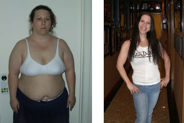Chrissy lost 128 pounds of fat in 14 months with high intensity training