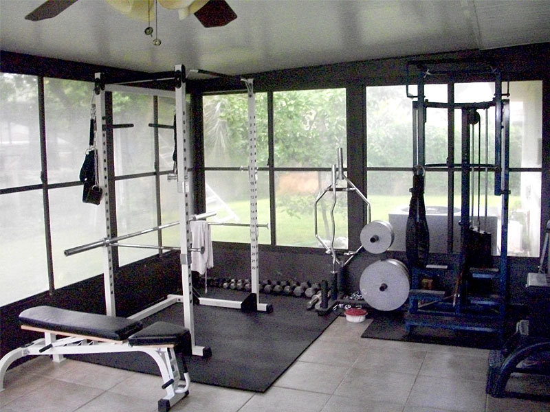 Equipping your new personal training studio high intensity training by drew baye - Images of home gyms ...