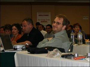 Ryan Hall at the 2006 Indianapolis High Intensity Training Seminar