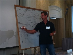 Doug McGuff MD speaking at the 2011 Indianapolis High Intensity Training Seminar