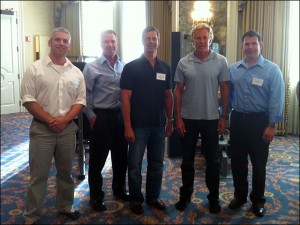 2011 Indianapolis High Intensity Training Seminar Speakers: Drew Baye, Bill DeSimone, Doug McGuff MD, Mark Sisson, Bo Railey