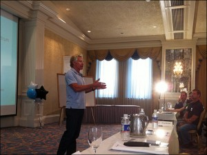 Mark Sisson talking about primal living at the 2011 Indianapolis High Intensity Training Seminar