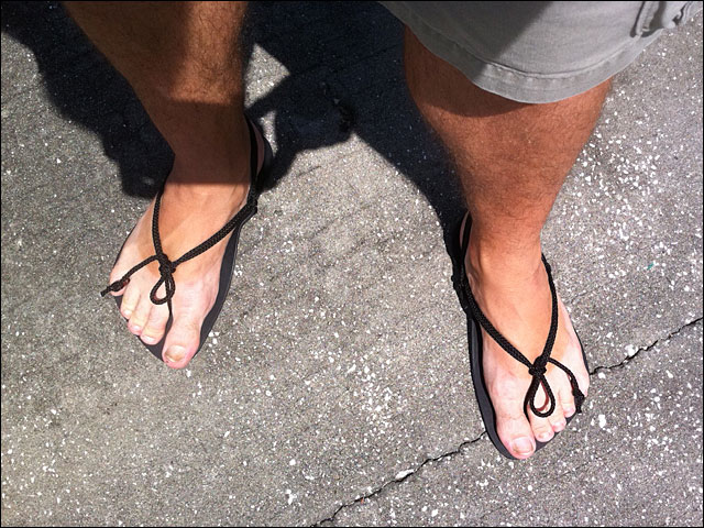 Going Barefoot, Almost