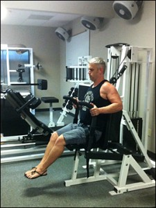 High Intensity Training - Drew Baye on the SuperSlow Systems Ventral Torso Machine