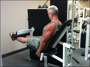 High Intensity Training - Drew Baye on the SuperSlow Systems Leg Extension