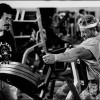 Mike Mentzer putting Mr. Olympia Dorian Yates through a Heavy Duty high intensity training workout