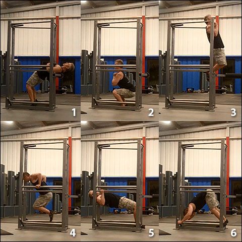 "Bodyweight ""Big Six"" On The UXS"