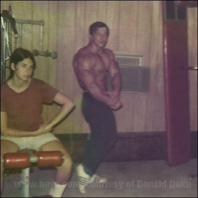 Casey Viator Training For The 1971 Aau Mr America High