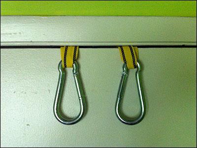 Suspension Trainer Door Mounting