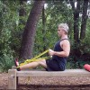 Suspension Trainer Timed Static Contraction Row