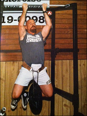 Doug Holland weighted chin up