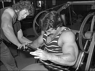 Mike Mentzer frequently used advanced HIT techniques like negative-only, forced-negatives, and forced reps.