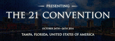 The 21 Convention - Tampa 2014