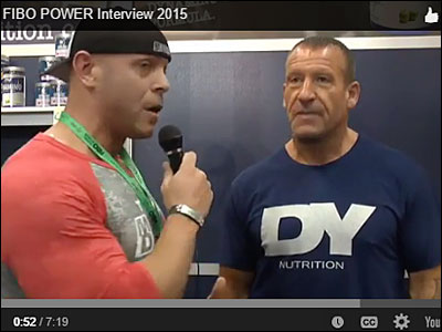 David Baye interviews six-time Mr. Olympia Dorian Yates for Muscular Development Magazine
