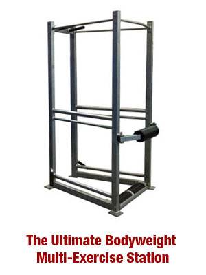 The UXS Ultimate Bodyweight Multi-Exercise Station