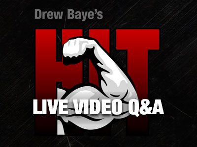 High Intensity Training Live Q&A