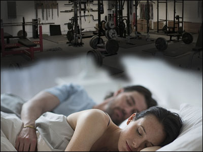 Sleep is important for building muscle and losing fat