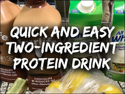Quick and easy protein drink recipe