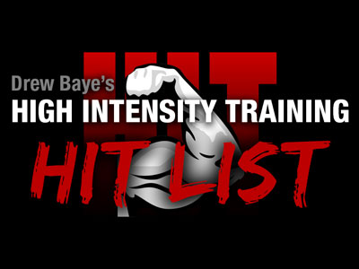 The HIT List High Intensity Training Discussion Forum